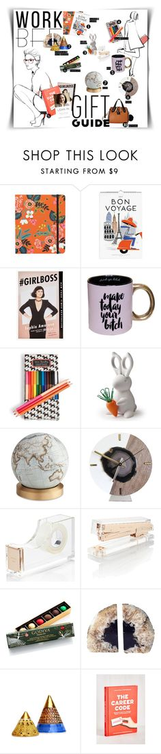 """Fistbumps for My Cell Mate"" by as0f1am ❤ liked on Polyvore featuring Rifle Paper Co, Kate Spade, Vera Bradley, Bellerby & Co, Godiva, Garance Doré and Chinese Laundry"