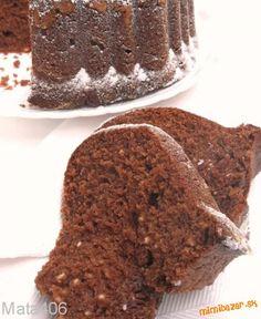 Čokoládová tvarohová bábovka