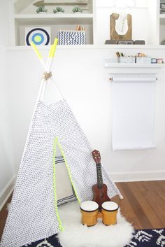 Modern Tribal-Inspired Boys Playroom