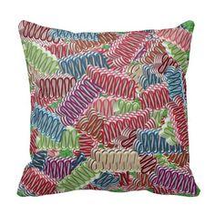 Christmas Ribbon Candies Throw Pillow #zazzle #christmas #ribbon #candies #pillow #decor  http://www.zazzle.com/zazzlepillows?rf=238170457442240176