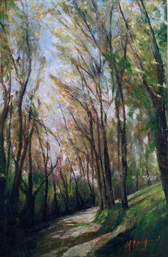 """Saatchi Online Artist Kristian Mumford; Painting, """"daylesford """" #art"""