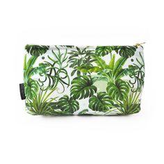 Leafy Monstera Make Up Bag