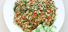 Wheat Berry and Navy Bean Salad, alive.com