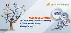 Are you searching for the best web development company in Chennai – Jayam web solution is one of the leading web development company in Chennai. http://www.jayamwebsolutions.com/web-development-company-in-chennai.php