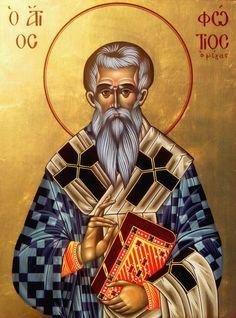 #saint, #saintfotios, #saintfotiosthegreat, #bysantine, #iconography, #greekiconography, #evapolart, #handmade, #handpainted, #handcrafted