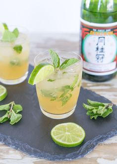 A mojito made with sake instead of rum? Sakejito!
