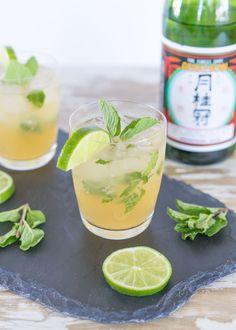 A mojito made with sake instead of rum? Sakejito!