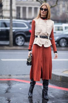 'Gen-Z Yellow' Was a Street Style Hit at Paris Fashion Week | Fashionista