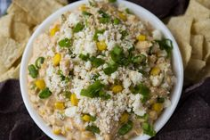 Mexican Street Corn Dip – Grizzly Fare