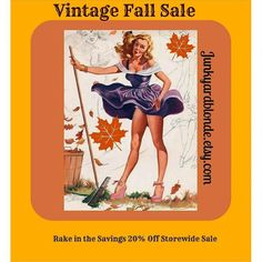 Fall Sale20% Off Storewide. Spend  $25 get an EXTRA 20 % OFF at Checkout with Coupon code JYBVIP20! ! #vintagelife #gotvintage #retrolove #kitsch #mcm #shabbychic #junkyardblonde #vintage #retro #madmen