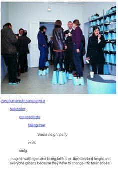 Same height party