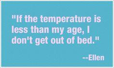Quote from Ellen