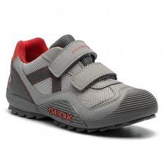 e17f19ed103 Κλειστά παπούτσια GEOX - J Atreus B. A J925ZA 014CE C0051 D Grey/Red