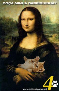 Gatos são folgados? Sei não! kkkk