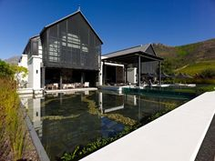 Steenberg Vineyards, 2011 Best Of Wine Tourism: the front of House,  Cape Town,