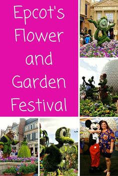 My favorite time of year is in the spring when Epcot welcomes the Flower and Garden Festival. An amazing floral fantasy, great eats, and fun free concerts set the stage for this 90 day event. Come visit the happiest place on Earth!