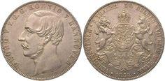 Braunschweig-Calenberg-Hannover Georg V. 1851-1866. Doppeltaler 1854 B Vorzüglich - Stempelglanz