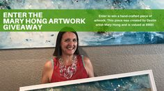 Enter your email address to win a hand-crafted piece of artwork. This piece was created by Destin artist Mary Hong and is valued at $900!    --> http://sociali.io/ref/U7385596  This giveaway is sponsored by The Henderson, Destin Florida's newest luxury resort and Mary Hong.