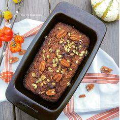 Chocolate Swirl Pumpkin Bread (Gluten Free, Dairy Free)
