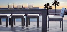 Marbella Aluminum Collection - Slate   RH