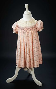 """Taking the School Exam Dress Worn by Shirley Temple in the 1936 Film """"Captain January"""" $2000+"""