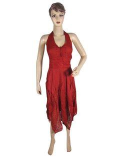 Indiatrendzs Bohemian Dress Halter Neck Boho Red Maxi Dress Boho Gypsy Dress mogulinterior,http://www.amazon.com/dp/B00ENBWUZA/ref=cm_sw_r_pi_dp_T9Qesb024EF42C4C