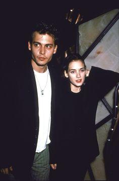Johnny Depp and Winona Ryder - MarieClaire.com