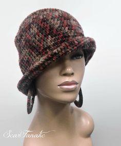 Fall Winter Crochet Knit Brim Beanie Cap Hat #CAP #Beanie