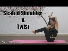 Beginner Seated shoulder & twist Yoga | Yoga With Sandeep | Vietnam - YouTube Dharma Yoga, Twist Yoga, Vietnam, Channel, Shoulder, Youtube, Youtubers, Youtube Movies