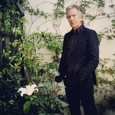 Alan in the garden of his home in London.
