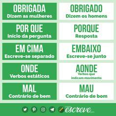 Portuguese Quotes, Portuguese Lessons, Writer Tips, Book Writing Tips, Learn Brazilian Portuguese, Portuguese Language, Study Organization, English Vocabulary Words, Study Hard