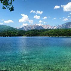 Eibsee Lake, Garmisch, Germany