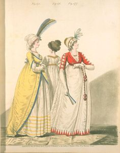 Red spencer. 1798? Heideloff's gallery of fashion