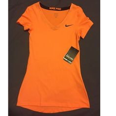 Nike Pro top Brand new with tags. Size x-small. No trades.           I inspect all my items before I ship them out so please be sure to read descriptions before purchasing to prevent any miscommunication. Nike Tops Tees - Short Sleeve