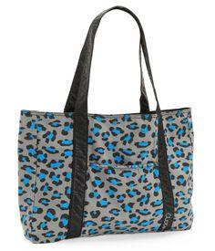 Leopard Print Tote