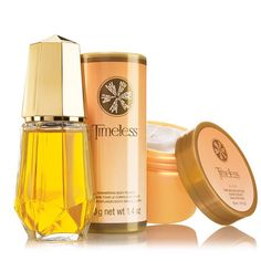 There is no woody fragrance more classic than Avon's Timeless. The eternal scent is a mystifying combination that lingers elegantly. It has top notes of fresh greens and sheer florals; and notes of jasmine patchouli, and vetiver; bare notes of amber, oakness, and musk. This floral scent is great for daily use.A $31 value, the collection includes: •Timeles Cologne Spray -1.7 fl. oz. a $15 value•Timeless Shimmering Body Powder -1.4 oz. net wt. a $8 value &bull...