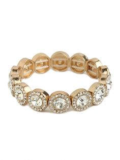 gold ice bracelet / baublebar... perfect for stacking