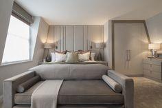 Eaton Mews North Master Bedroom: Luxury Interior Design by #RoselindWilsonDesign