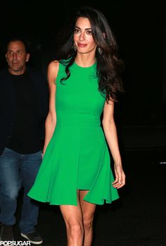 Amal and George Clooney at NYC Film Festival 2015 | POPSUGAR Celebrity