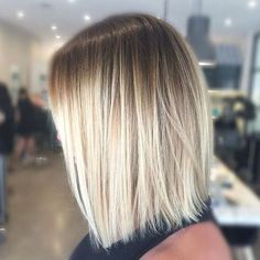 Image result for blonde balayage straight hair