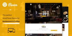 Download  Resca v1.1.1  WordPress Restaurant Theme
