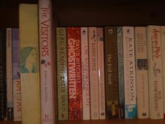 My dear friend Sue's shelfie.