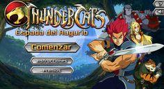 Ayuda a los ThunderCats a encontrar el Libro del Augurio, pero ten cuidado ya que tambien Mumm-Ra. http://www.ispajuegos.com/jugar8540-Espada-del-Augurio-ThunderCats.html