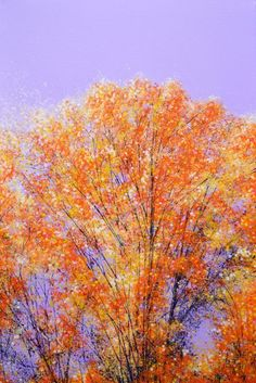 ARTFINDER: Autumn Splendor by Marc Todd - Created and shipped on a high quality, deep edged canvas...ready to hang unframed if preferred.