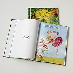 Personalized Fairy-Tale Storybook from RedEnvelope.com