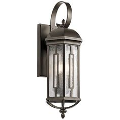 "Kichler Galemore 26 1/2""H Olde Bronze Outdoor Wall Light - #9H823 