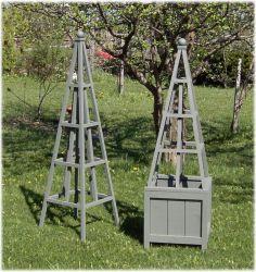 Gray Green Obelisk
