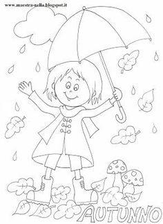 Ősz – Anya játsszunk! Autumn Activities, Activities For Kids, Coloring Sheets, Coloring Pages, Rain Painting, Painting Templates, Teaching Colors, Applique Designs, Four Seasons