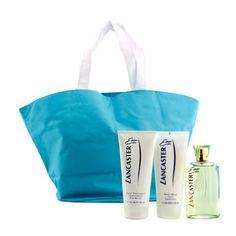 Lancaster Eau De Lancaster Coffret: Edt Spray 125ml/4.2oz + Body Milk 200ml/6.7oz + Hand Treatment 200ml/6.7oz + Hand Bag 3pcs+1bag - http://aromata24.gr/lancaster-eau-de-lancaster-coffret-edt-spray-125ml4-2oz-body-milk-200ml6-7oz-hand-treatment-200ml6-7oz-hand-bag-3pcs1bag/