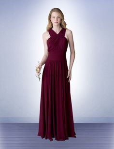 Bridesmaid Dress Style 1271 - Bridesmaid Dresses by Bill Levkoff  *Available at http://www.tie-the-knot-bridal.com/ Green Bay, WI.  Call us at 920-662-1920 to schedule an appointment.